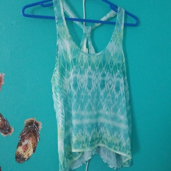 American Eagle Outfitters Tops - Sheer tank top